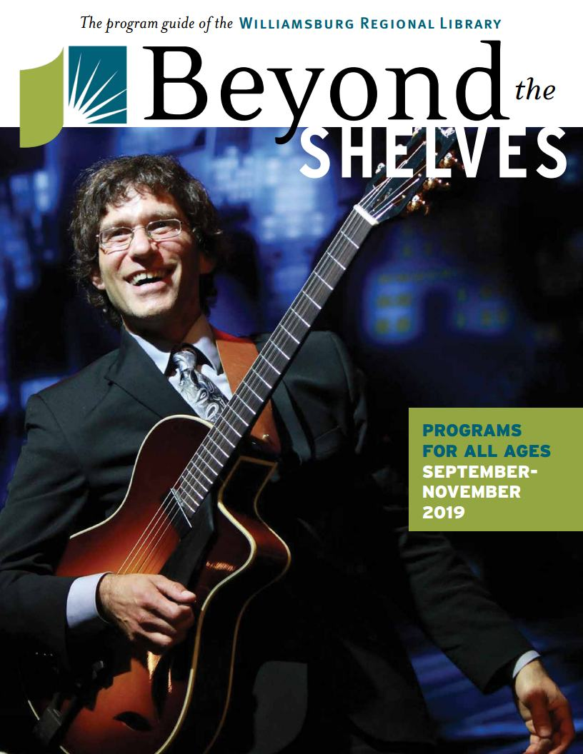 Fall issue of Beyond the Shelves cover